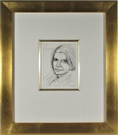 """Richard Diebenkorn, '""""Portrait of Phyllis #22"""" from the suite """"41 Etchings and Drypoints""""', 1965"""
