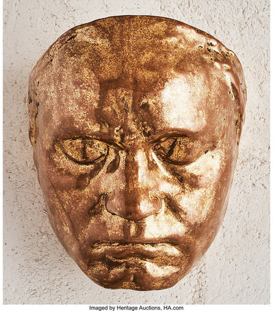 Galileo Chini, 'Golden Mask', circa 1911