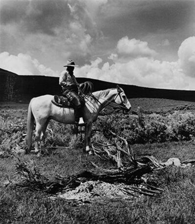 Kurt Markus, 'Dave Zeller, Spanish Ranch, Tuscarora, Nevada', 1983