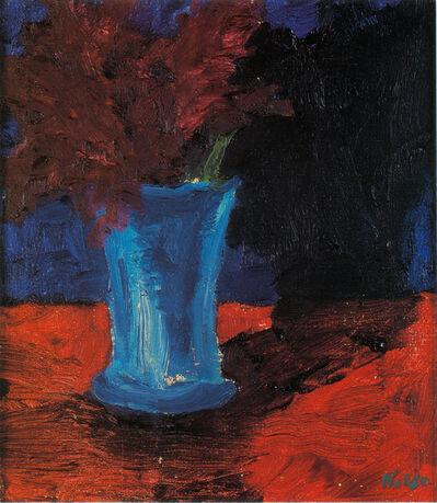Emil Nolde, 'Vase mit Blumen', 1915