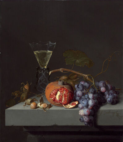 Jacob van Walscapelle, 'Still Life with Fruit', 1675
