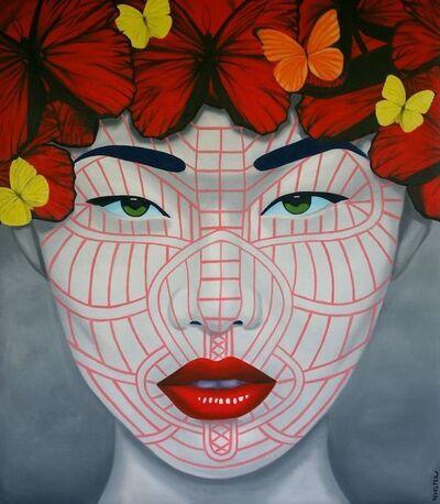 Christian Develter, 'Butterfly Da Ma Wine Chin', 2014