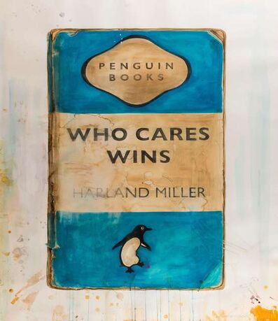 Harland Miller, 'Who Cares Wins ', 2015