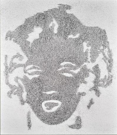Vik Muniz, 'Reversal Grey Marilyn ( Pictures of Diamond Dust) ', 2003