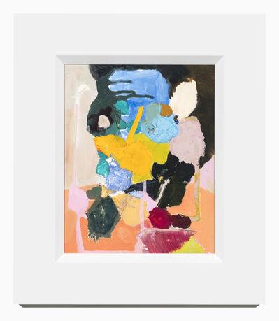Karen Black, 'Ordinary Portrait with Black Hair and Orange Dress', 2017