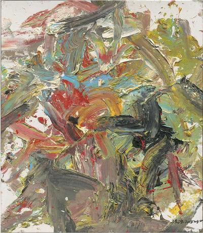 Yigang WANG, ' Abstract Work A42', 2018