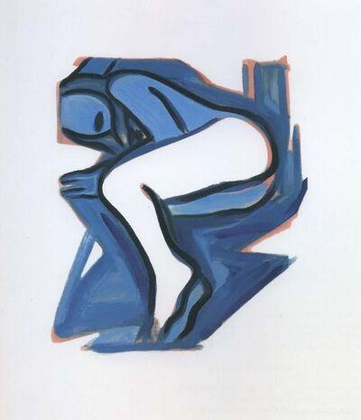 Tom Wesselmann, 'Blue Nude #3', 2001