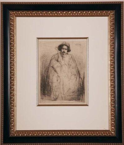 James Abbott McNeill Whistler, 'Becquet', ca. 1859