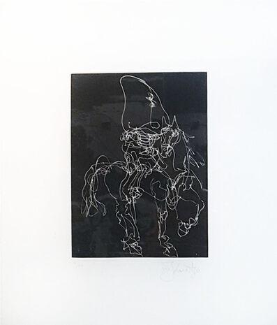 William Kentridge, 'Nose on a White Horse', 2010