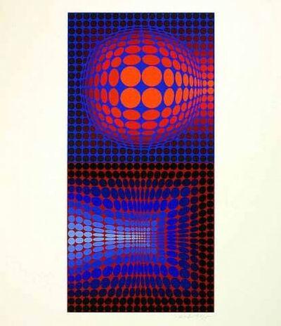 Victor Vasarely, 'Gordes Vega Pauk', 1971