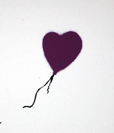 Banksy, 'Girl with Balloon (Purple) AP', 2003