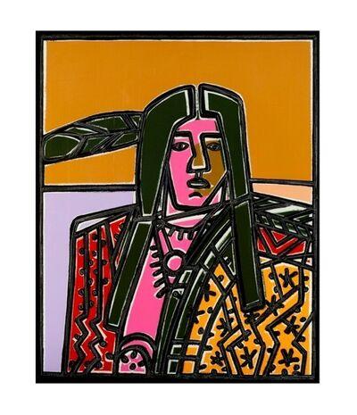 America Martin, 'Sunset on the Mesa',
