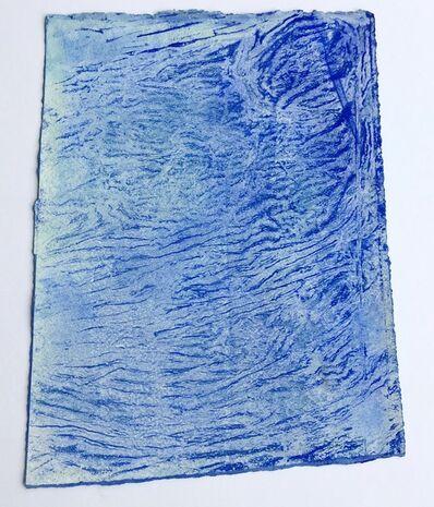 Ellen Hackl Fagan, 'Seeking the Sound of Cobalt Blue _ Fingerprint', 2015