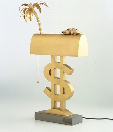 "UFO Group, '""Dollaro"" table lamp', ca. 1969"
