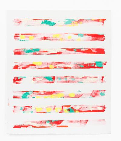 Andrea Joki, 'eight strips', 2018