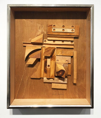Louise Nevelson, 'Series of Unknown Cosmos XXXIX', 1965