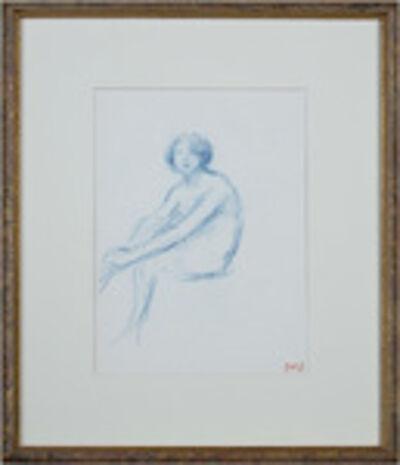 Georges d'Espagnat, 'Jeune Femme Assise', ca. 1900