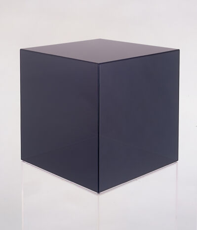 Larry Bell, 'Cube #53 (Dark Grey)', 2006