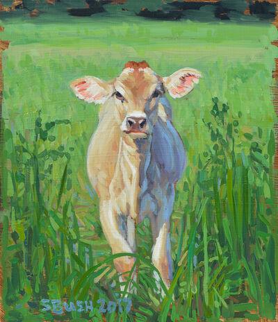 Stephanie Bush, 'Cow Study 21', 2017