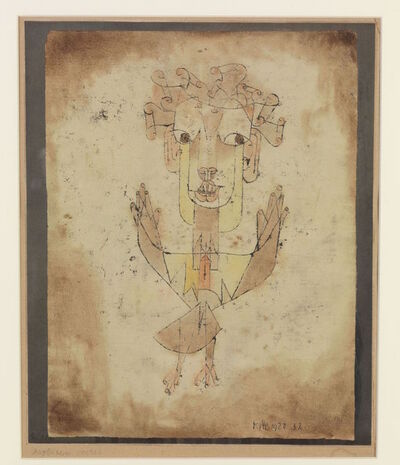 Paul Klee, 'Angelus Novus', 1920