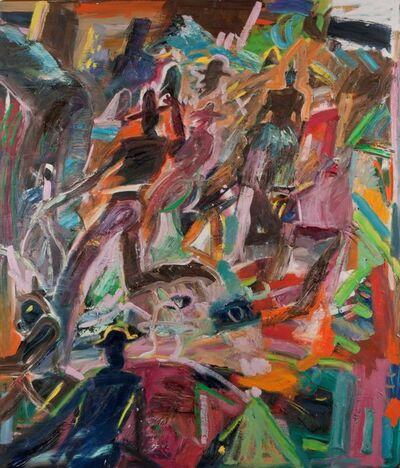 Carlos Almaraz, 'Cowboys', 1987