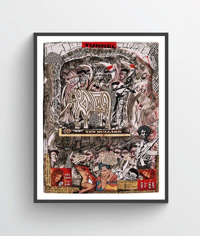 Dan Eldon, 'Tunnel', 1990