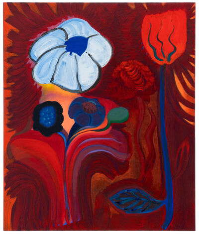 Kristy Luck, 'Fire and Flower', 2018