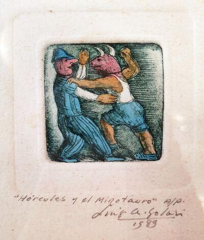 Luis Alberto Solari, 'Hercules y el Minotauro P/A', 1989