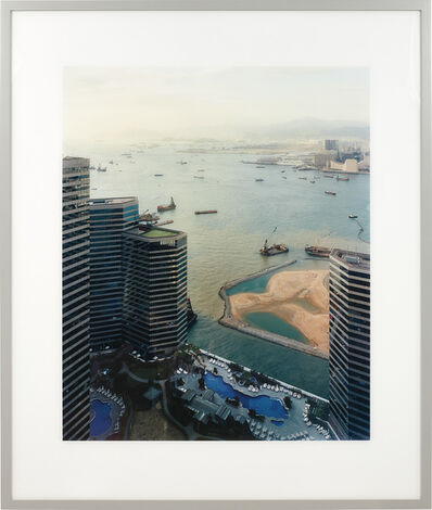 Andreas Gursky, 'Hong Kong, Hafen (Hong Kong Port)', 1994