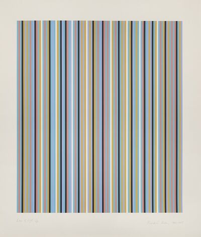 Bridget Riley, 'Edge of Light', 1981-2003