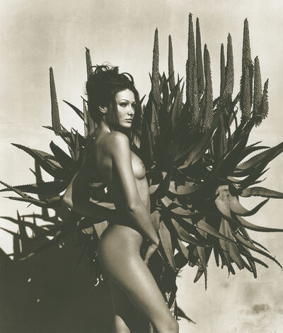 Herb Ritts, 'Carla Bruni 6, Point Dume', 1999