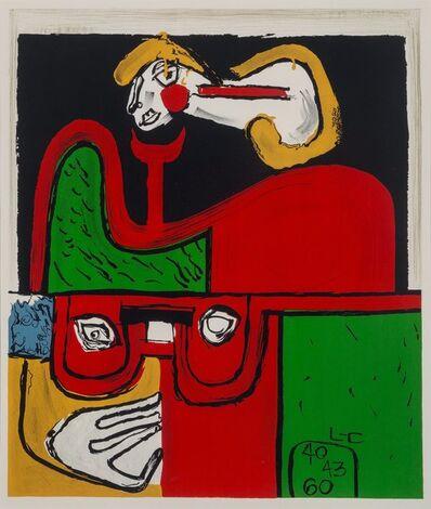 Le Corbusier, 'Portrait', c. 1940
