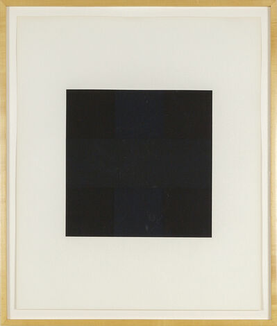 Ad Reinhardt, 'Ten Works x Ten Painters', 1964