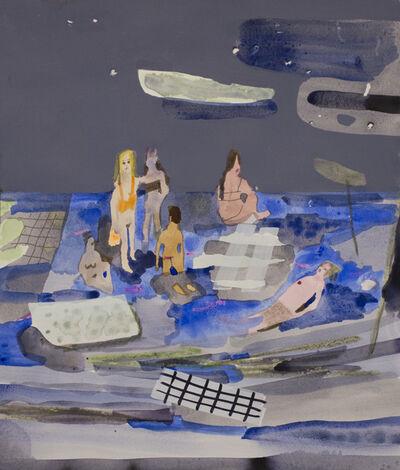 Erika Wastrom, 'Night Tide Swimmers', 2016