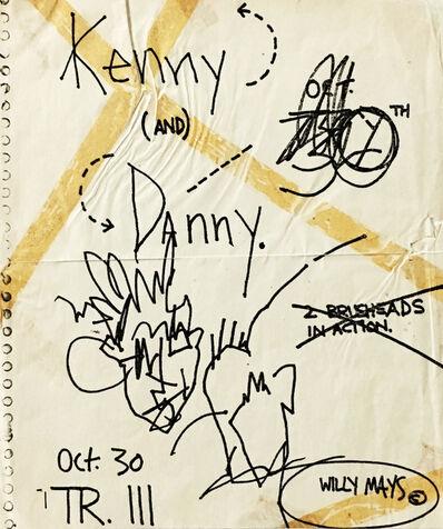 Jean-Michel Basquiat, 'Basquiat Danny Rosen Tier 3', ca. 1980