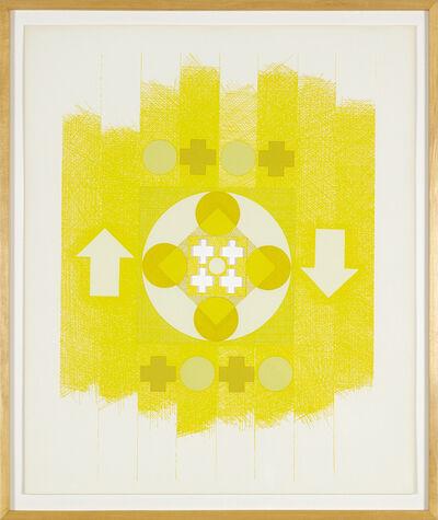 George Earl Ortman, 'Ten Works X Ten Painteres', 1964