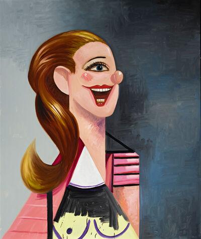 George Condo, 'Female Portrait Composition', 2008