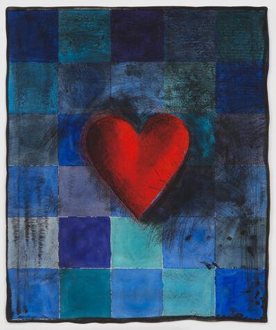Jim Dine, 'Hart in Blu', 1995