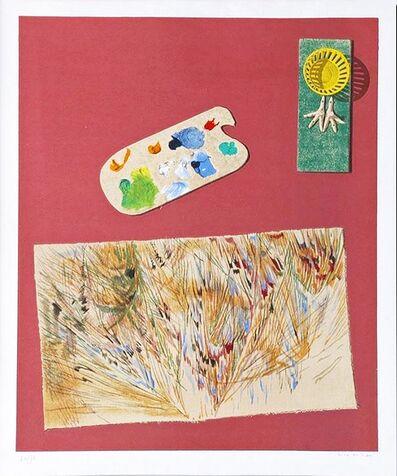Max Ernst, 'La Lumiere Descend de l'Ombrelle aux Moissons from the ''Dent Prompte'' portfolio (Spies/Leppien, A 19)', 1969