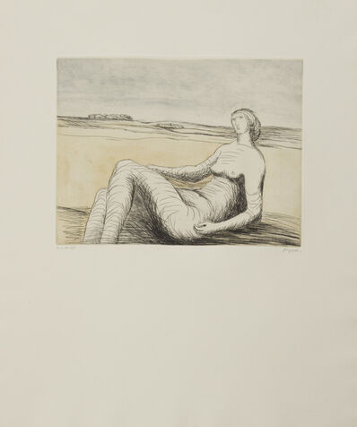 Henry Moore, 'Reclining Figure 3 ', 1977