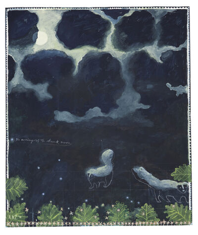 Robert Zakanitch, 'The Evening of the Skunk Moon', 2015