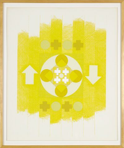 George Earl Ortman, 'Ten Works X Ten Painters', 1964