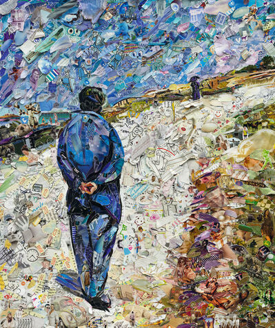 Vik Muniz, 'Pictures of Magazine 2: Father Magloire on the Road between Saint-Clar and Etretat, after Gustave Caillebotte,', 2013