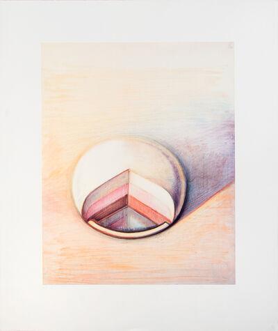 Wayne Thiebaud, 'Neapolitan Pie', 1991