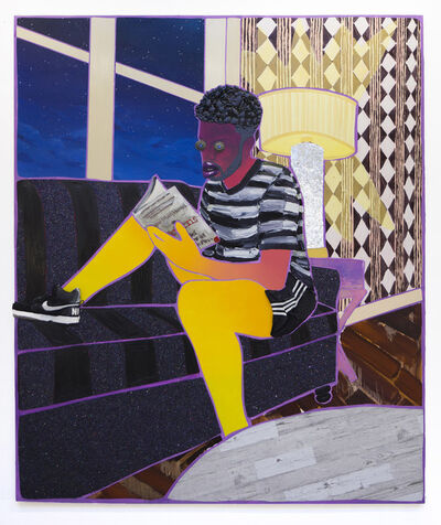 Devan Shimoyama, 'Evening Reader', 2019