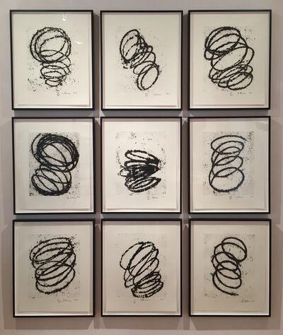 Richard Serra, 'Bights #1-9', 2011