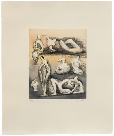 Henry Moore, 'Sculpture Ideas', 1982