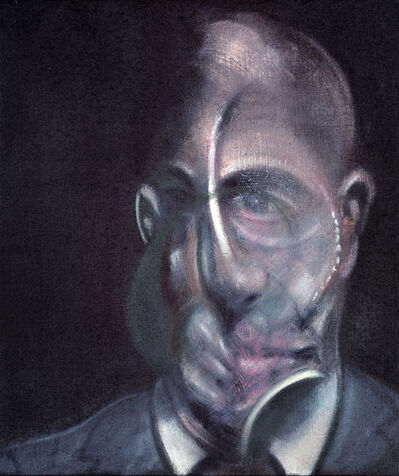Francis Bacon, 'Portrait of Michel Leiris', 1976