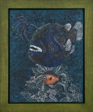 Yang Mao-Lin, 'Wanderers of the Abyssal Darkness.Football Fish S1802', 2018