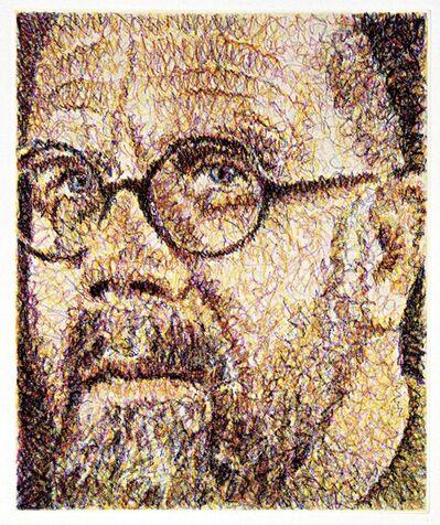 Chuck Close, 'Self-Portrait/Scribble/Etching', 2000